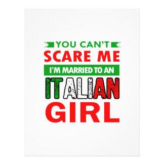Italian Wife Wife Letterhead