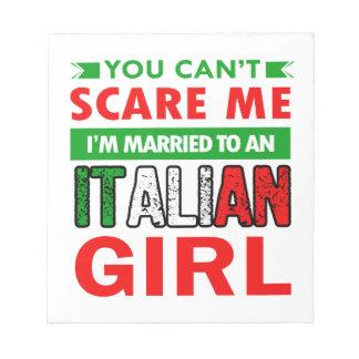 Italian Wife Wife Notepad
