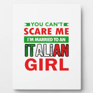 Italian Wife Wife Plaque