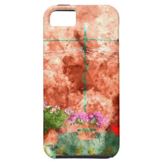 Italian Window With Open Wooden Shutters iPhone 5 Cover