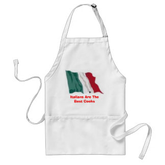 Italians Are The Best Cooks Standard Apron