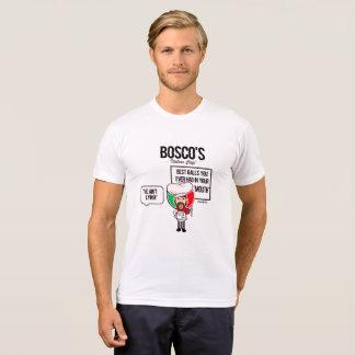 Italien de T-shirt de boules de Cafe de l'Italien