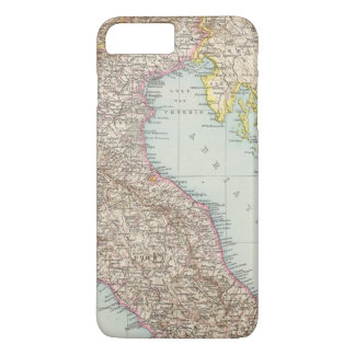 Italien nordliche Halfte, Map of North Italy iPhone 7 Plus Case