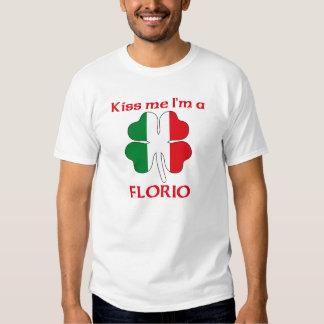 Italiens personnalisés m'embrassent que je suis t shirt