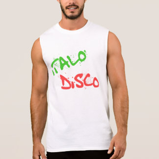 Italo Disco Sleeveless Shirt