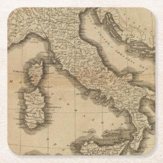 Italy 5 square paper coaster