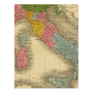 Italy 8 postcard