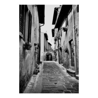Italy Alley Poster