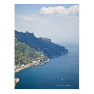 Italy, Amalfi Coast, High angle view on town at Postcard