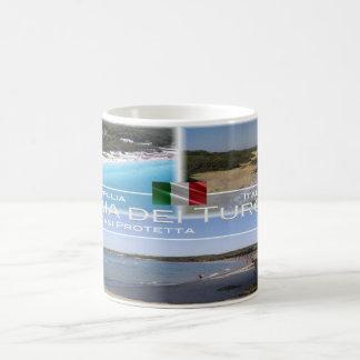 Italy - Apulia - Baia dei Turchi - Coffee Mug