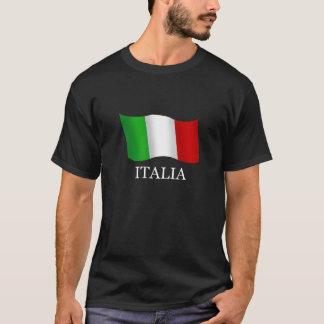 Italy Best seller wavy flag for Italians T-Shirt