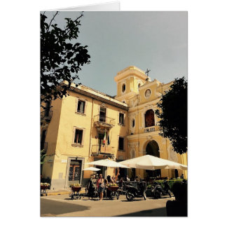 Italy Blank Greeting Card Sorrento