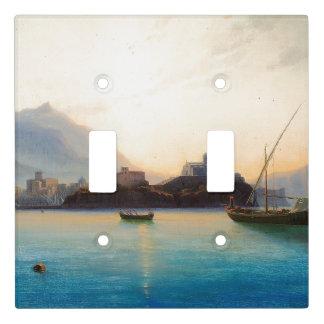 Italy Boats Coast Ocean Sea Light Switch Cover