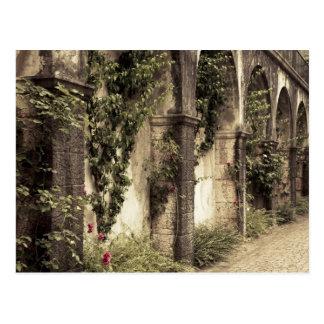 Italy, Brescia Province, Gardone Riviera. Garden Postcard