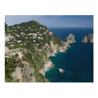 ITALY, Campania, (Bay of Naples), CAPRI: Postcard