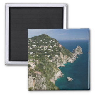 ITALY, Campania, (Bay of Naples), CAPRI: Square Magnet