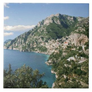 Italy, Campania, Sorrentine Peninsula, Positano, Tile