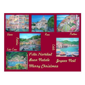 Italy - Christmas Postcard