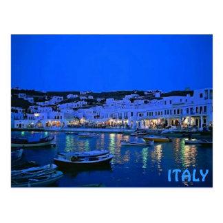 ITALY COAST POST CARD