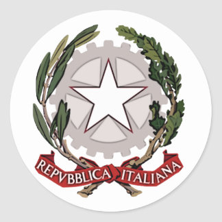 Italy Coat of Arms Sticker