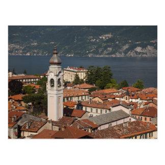Italy, Como Province, Menaggio. Town view and 2 Postcard