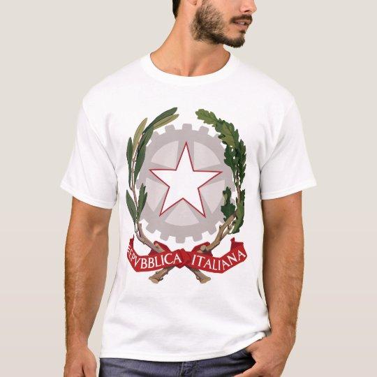 Italy Emblem Coat of Arms T Shirt