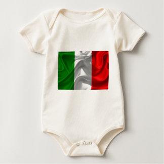 italy-Flag Baby Bodysuit