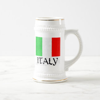ITALY FLAG BEER STEIN