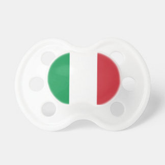 Italy Flag Booginhead Pacifier