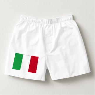 ITALY FLAG BOXER SHORTS BOXERS