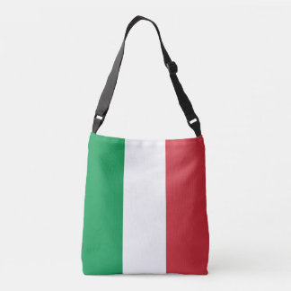 Italy Flag Crossbody Bag