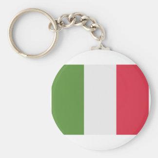 Italy Flag - emoji Twitter Basic Round Button Keychain