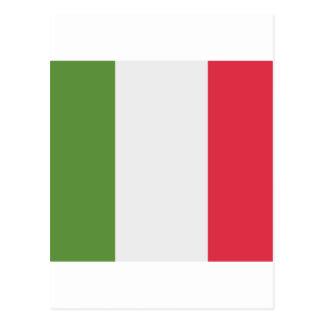 Italy Flag Emoji Twitter Postcard