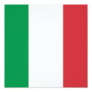 Italy Flag Invitation