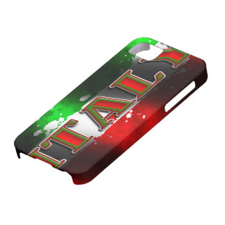 Italy Flag Iphone 5 Case-Mate Case