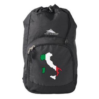 Italy Flag/Map High Sierra Backpack