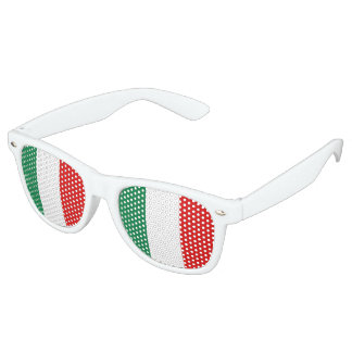 Italy Flag Party Sunglasses