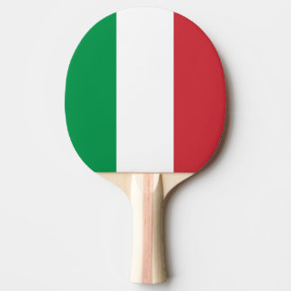 Italy Flag Ping Pong Paddle