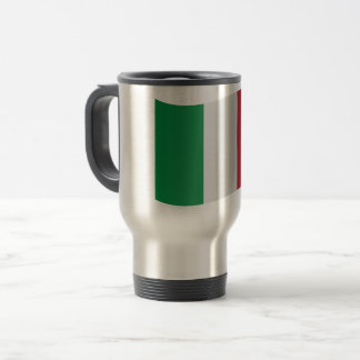 Italy Flag Travel Mug