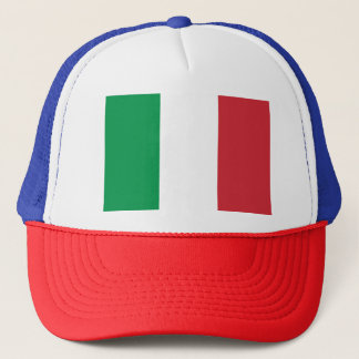 Italy Flag Trucker Hat