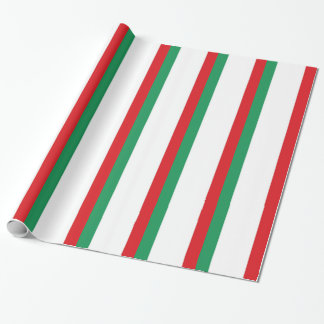 Italy Flag Wrapping Paper