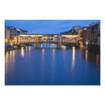 Italy, Florence, Night Reflections in the Photographic Print