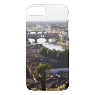 Italy, Florence, Ponte Vecchio and River Arno iPhone 7 Case