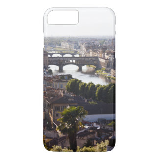 Italy, Florence, Ponte Vecchio and River Arno iPhone 7 Plus Case