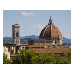 Italy, Florence, View of Florence Cathedral