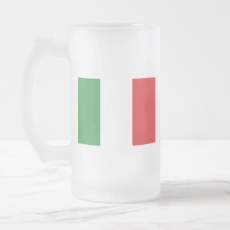ITALY FROSTED GLASS BEER MUG