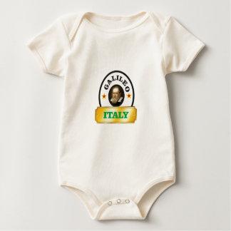 italy galileo baby bodysuit
