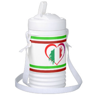 Italy heart drinks cooler