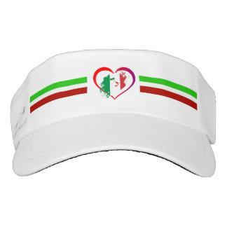 Italy heart visor