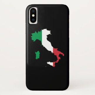 Italy in Flag Colors iPhone X Case